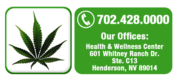 contact dr. drrefer las vegas nevada marijuana card